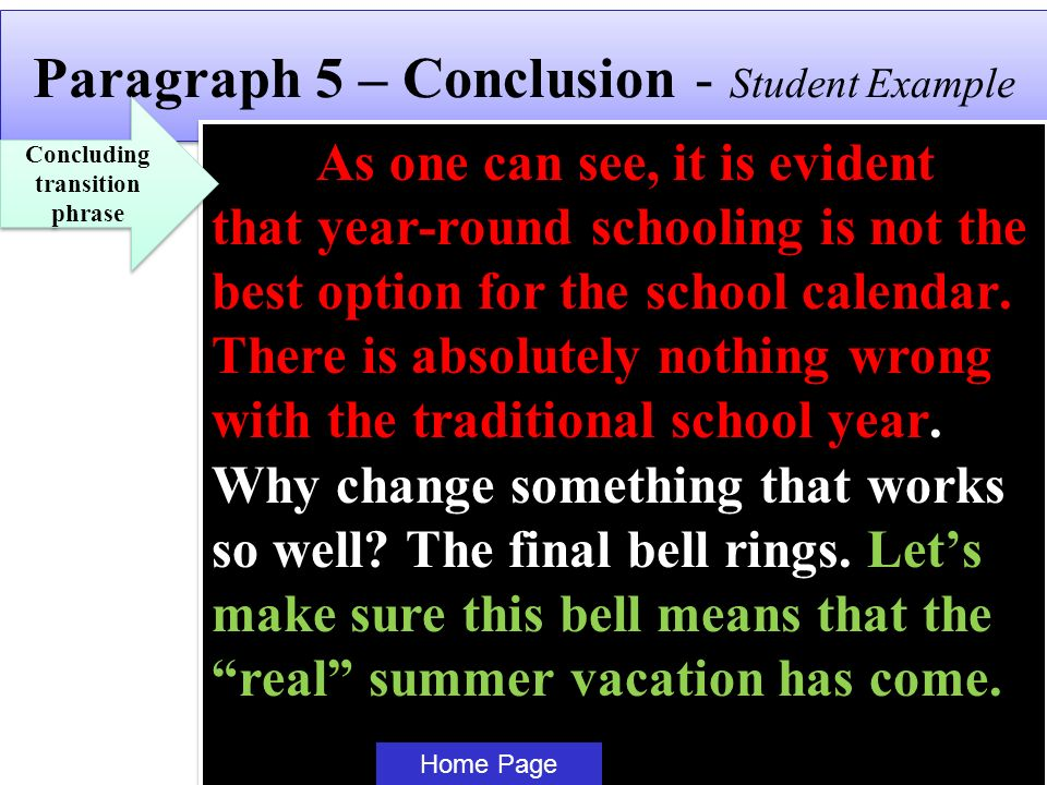 Year Round School Calendar Example : What every students needs to know before during writing