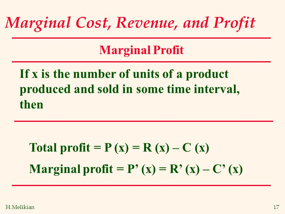 marginal revenue and marginal cost Tips to understand marginal revenue vs marginal cost and how contractors use it  to increase profits.