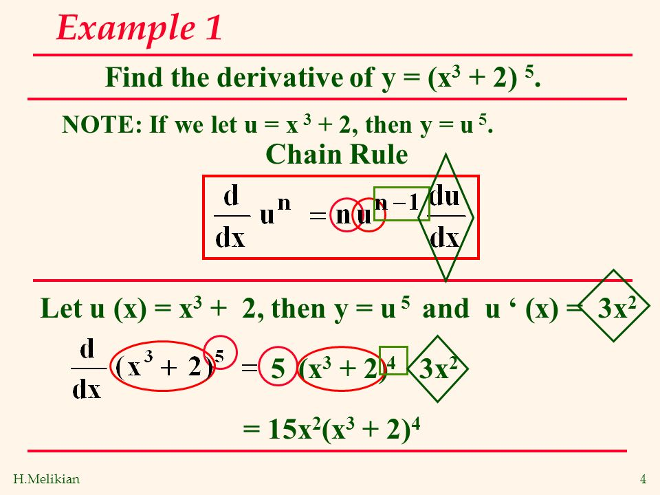 Chain Rule Power Form Marginal Analysis In Business And Economics Ppt Download