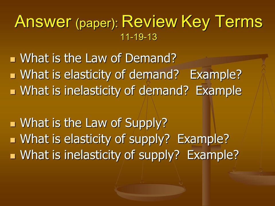 law of demand essay The law of demand was documented as early as 1892 by economist alfred marshall due to the law's general agreement with observation, economists have come to accept the validity of the law under most situations.