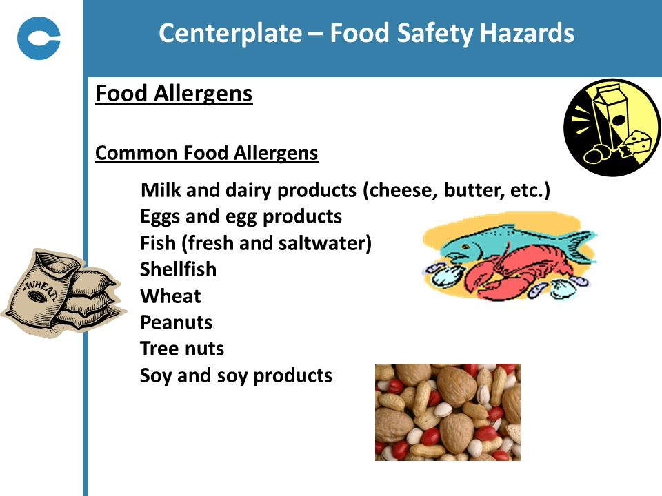 Centerplate – Food Safety Hazards
