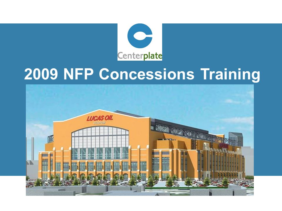 2009 NFP Concessions Training