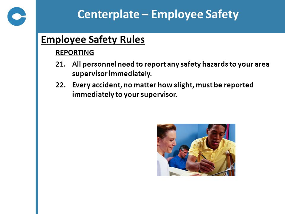 Centerplate – Employee Safety