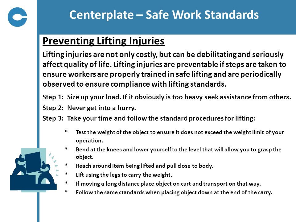 Centerplate – Safe Work Standards