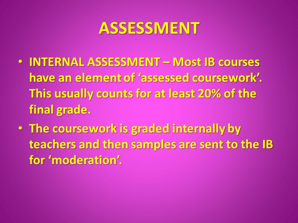 History of the International Baccalaureate   The International