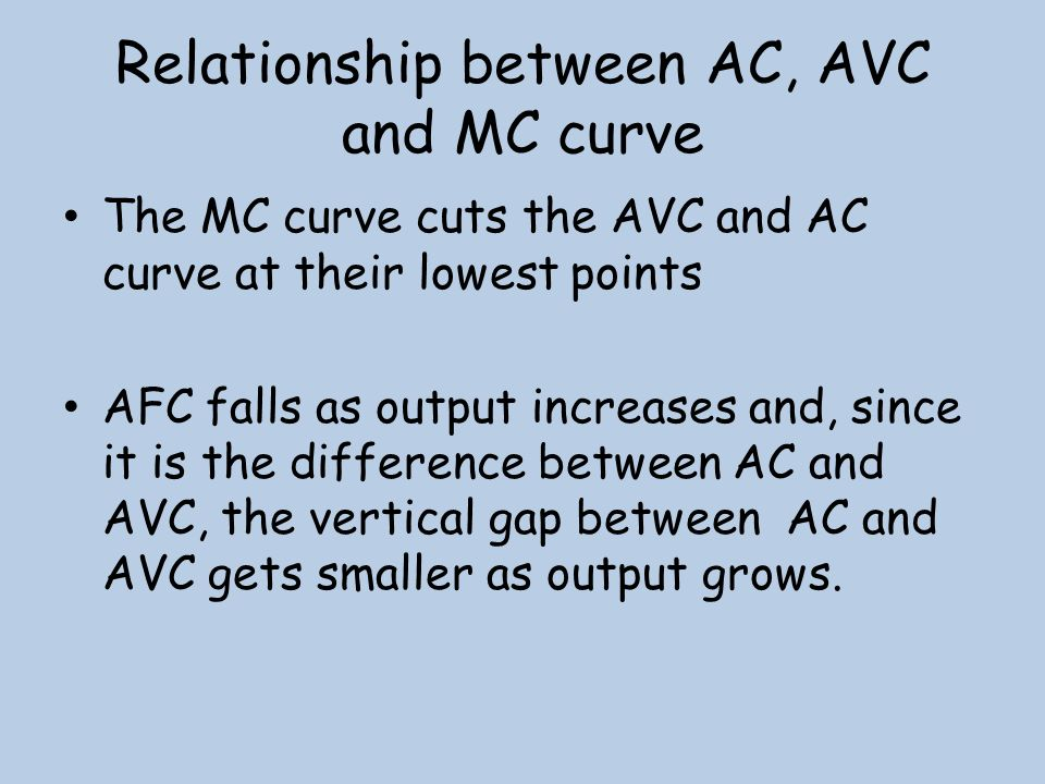 avc and mc relationship