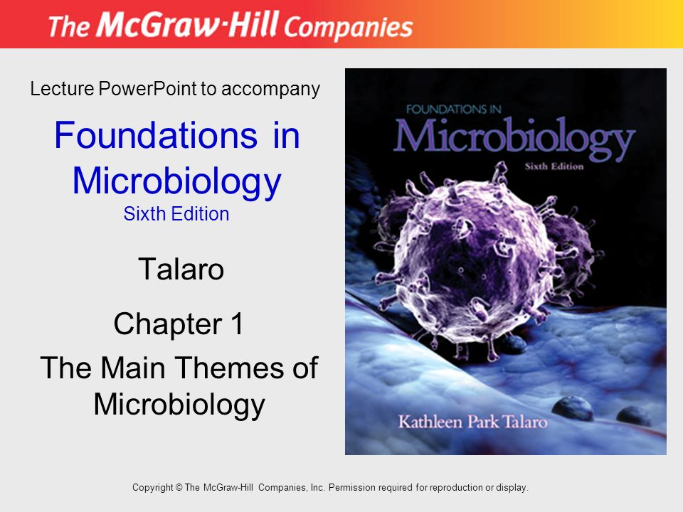 By kathleen park talaro foundations in microbiology: 6th (sixth.