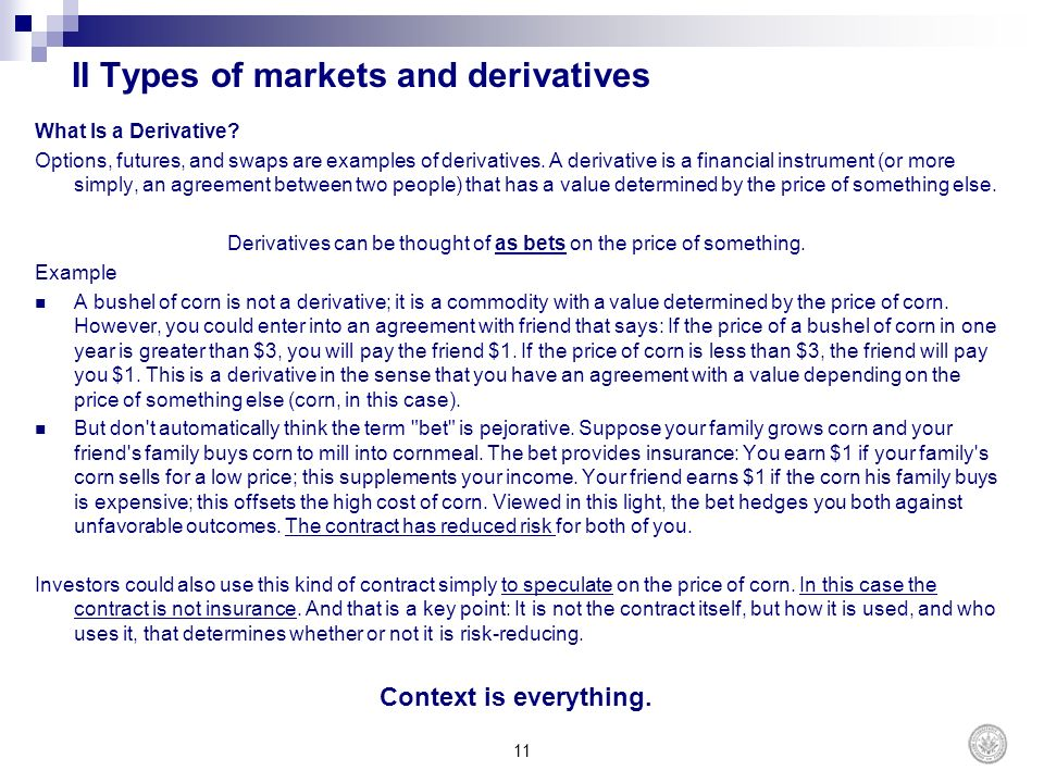 Cours Title Derivatives Markets - Ppt Download