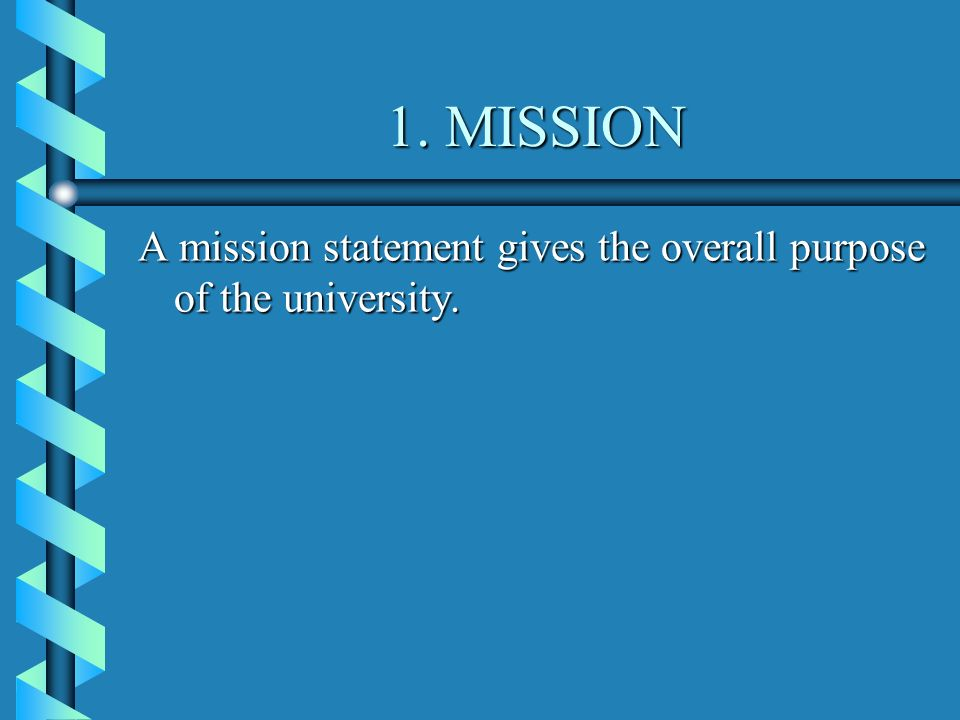 a reflection on the mission statement of a university Reflections from 2015 a mission week reflection on  live the mission  sju mission statement.