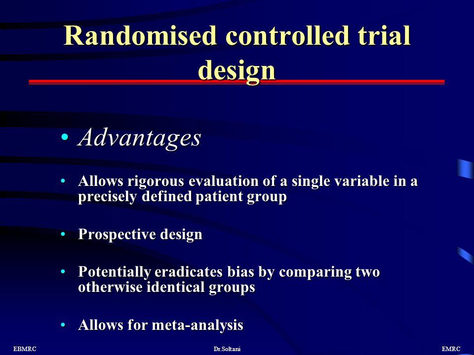 randomized controlled trial advantages pdf