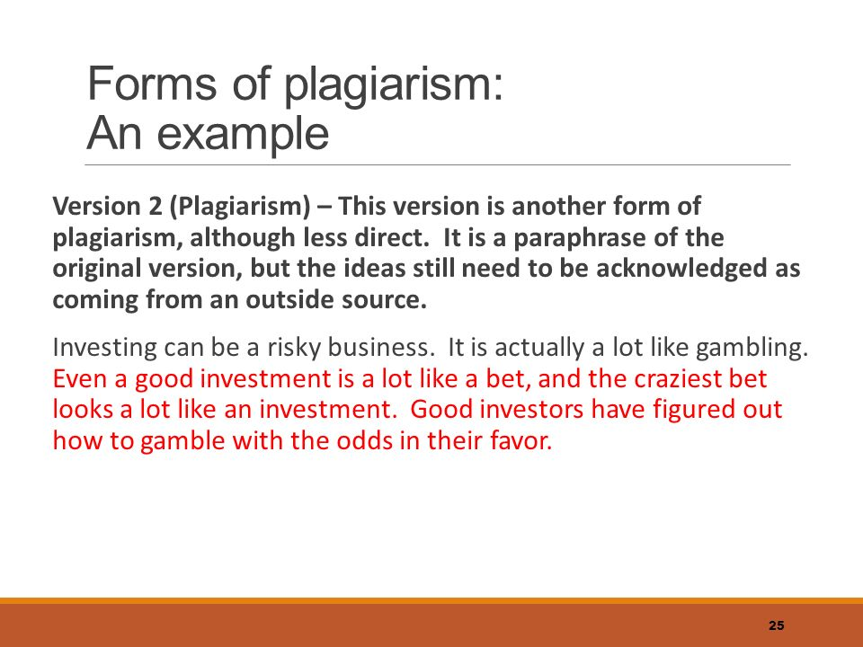 Plagiarism – What it is and how to avoid it - ppt video online ...
