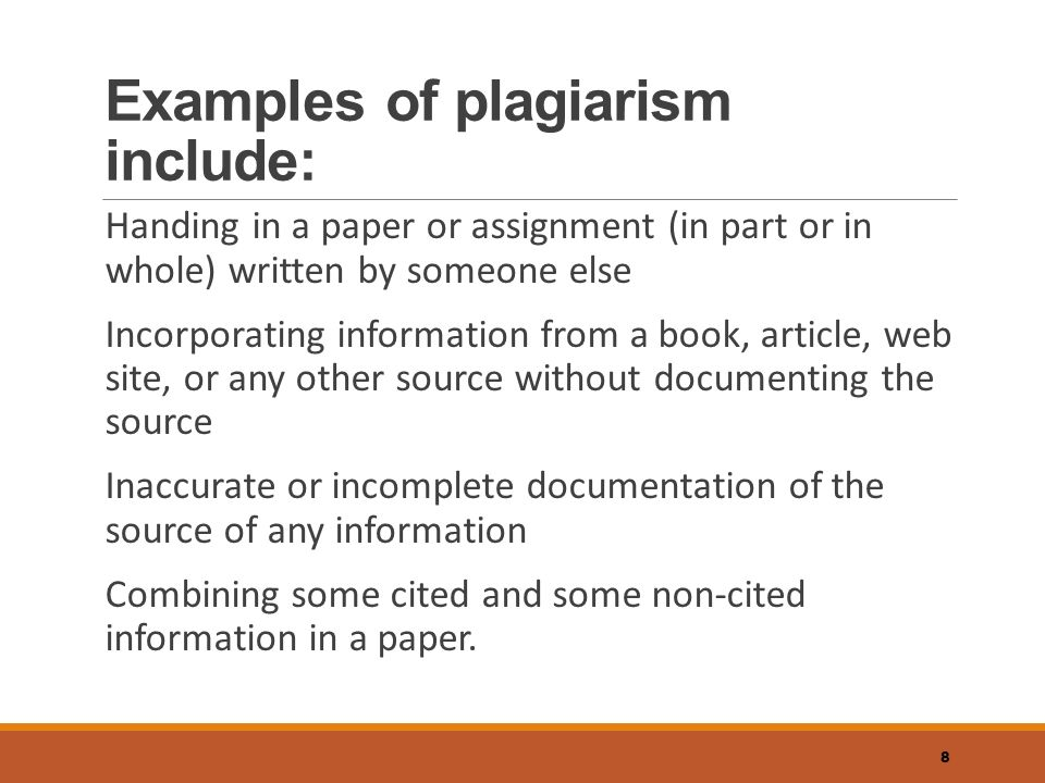 How to write a paper without plagiarizing