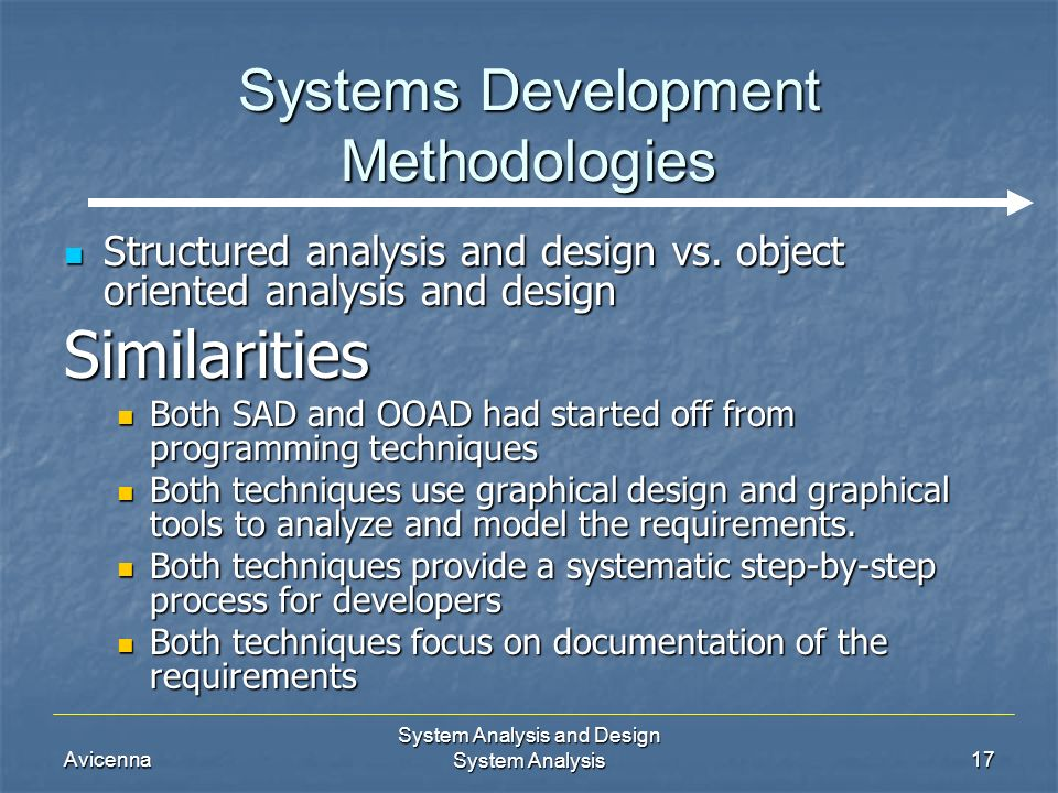 SAD abbreviation stands for Systems Analysis & Design
