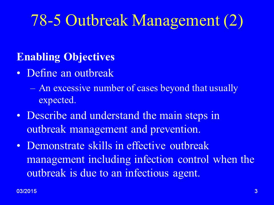 3 2 potential impact of an outbreak of infection 32 explain the potential impact of an outbreak of infection on the individual and the organisation   42 outline potential risks of infection within the.