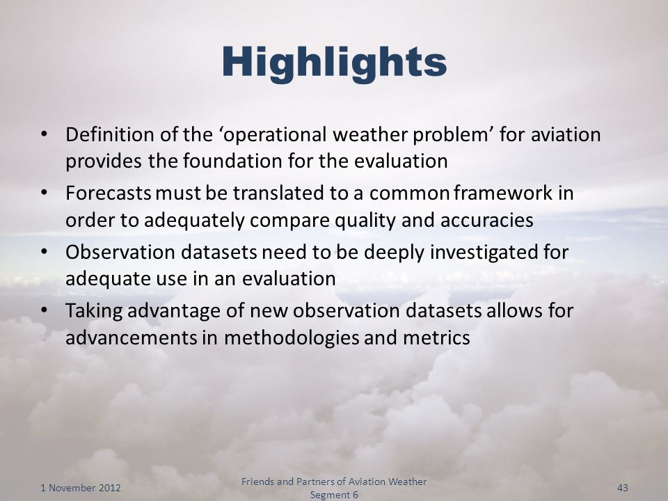 literature review on aviation weather