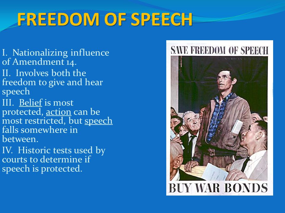 freedom of speech should be limited Arguments against campus hate speech codes the most fundamental argument against hate speech codes rests on the idea that they violate a fundamental human right, freedom of speech such a fundamental right, it is argued, should not be limited except to prevent serious harm to others.