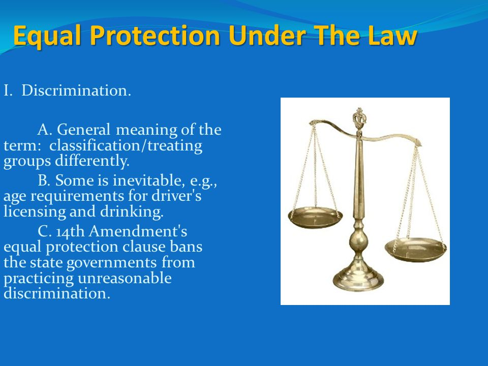 Due Process Clause, Equal Protection Clause, and Disenfranchising Felons
