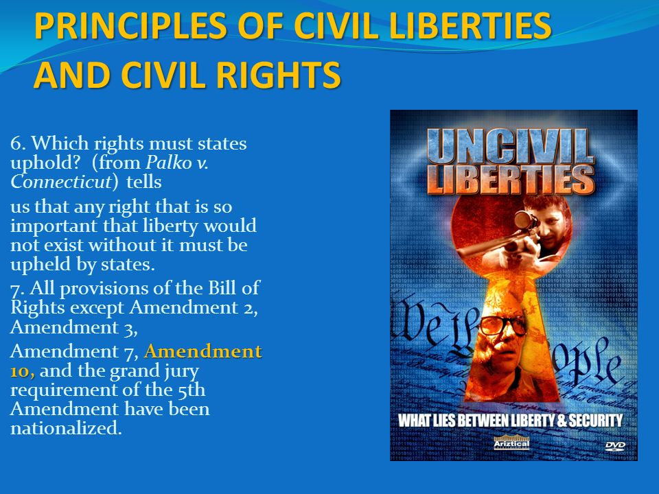 civil liberties civil rights The existence of some claimed civil liberties is a matter of dispute, as are the extent of most civil rights controversial examples include property rights , reproductive rights , and civil marriage.