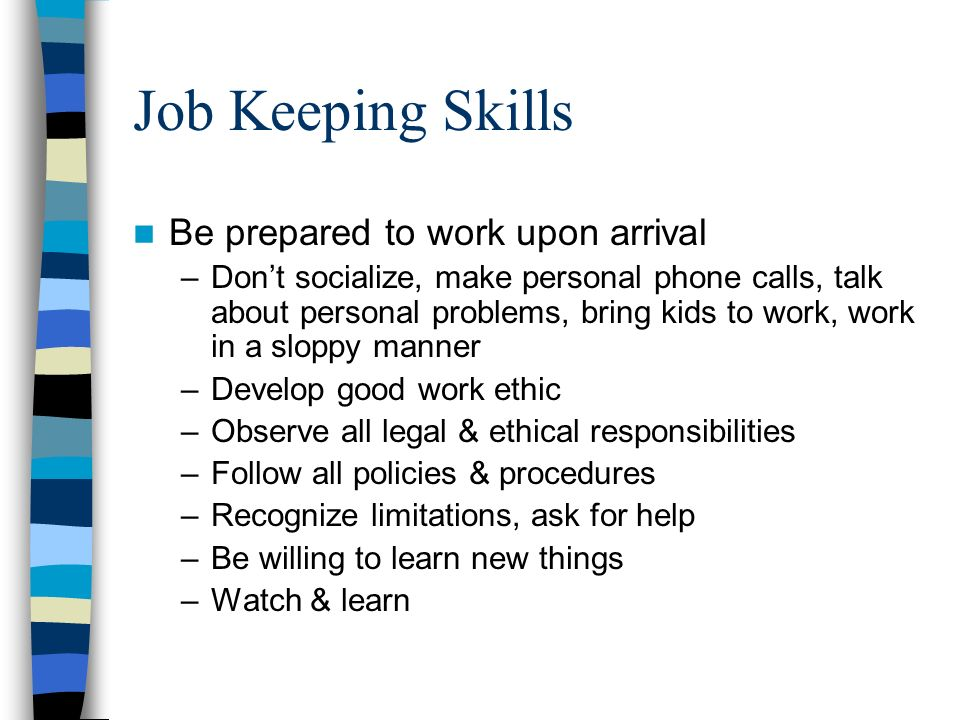 good skills to have for a job