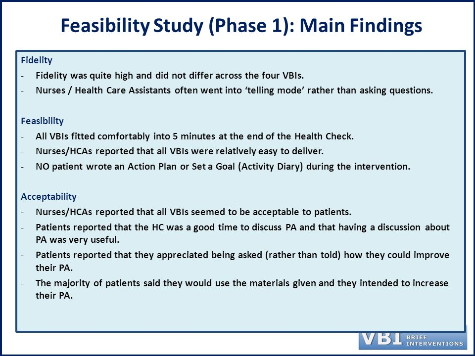 How to Conduct a Feasibility Study with a Survey
