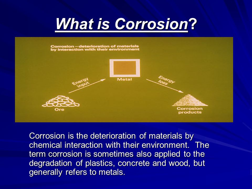 types of corrosion and their effects
