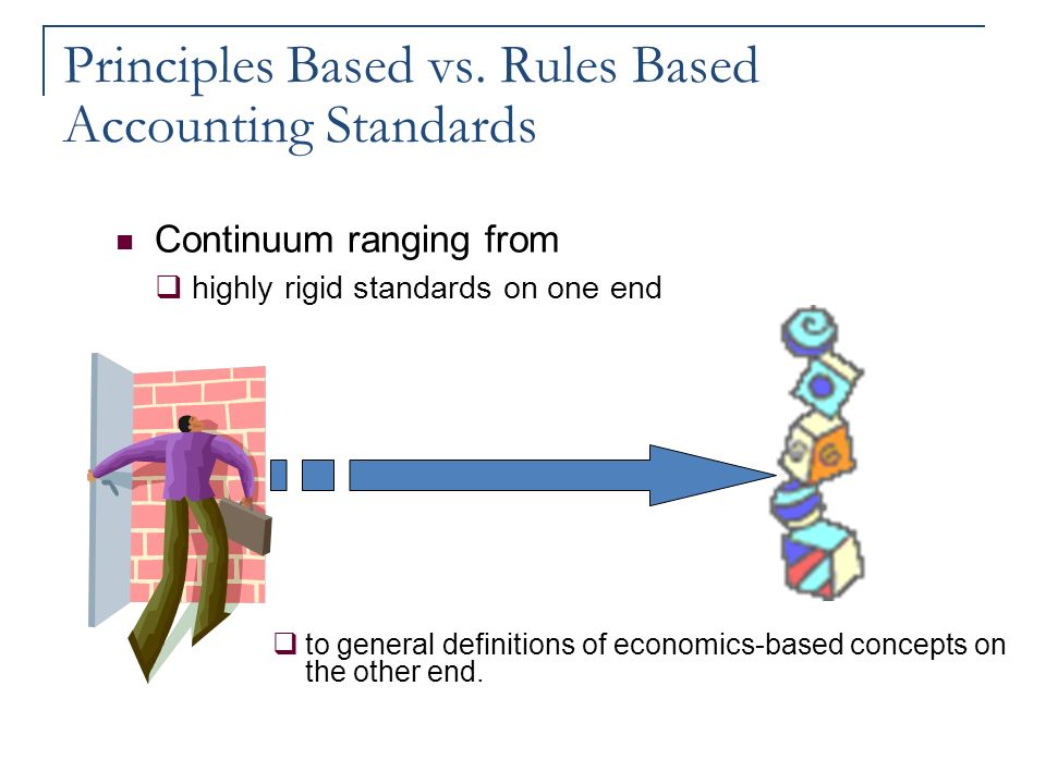 Principle vs rule based