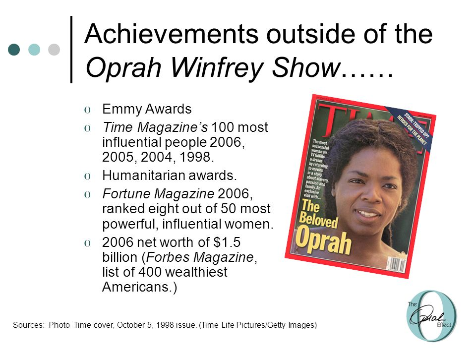 Three Theories Shed Light On Oprah Winfrey S Power And