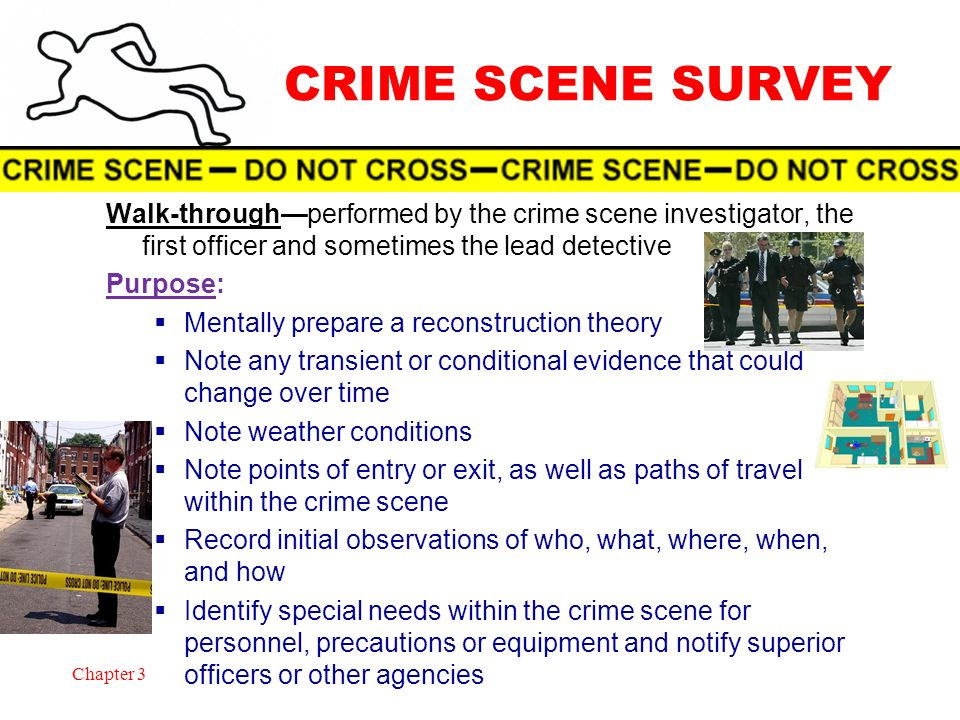 Crime Scene Students Will Learn Ppt Download