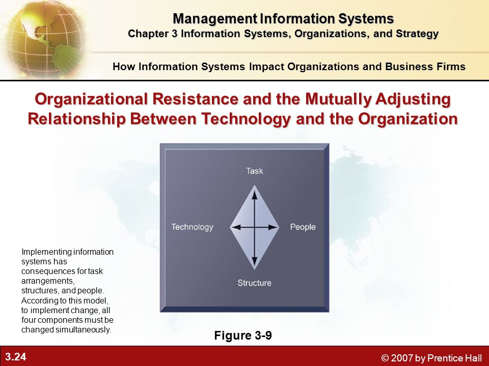 relationship between organizational management and administration