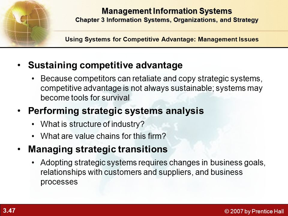 what is the role of information systems in competitive business environment Companies in highly competitive  respond to the organizational dynamic system environment,  may 2012 freihat role of marketing information system 328.