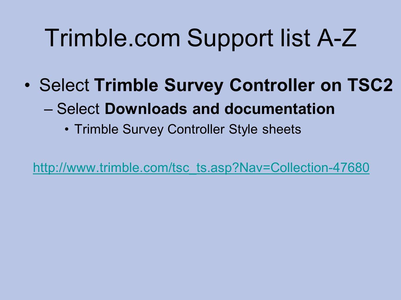 trimble tsc2 survey controller manual