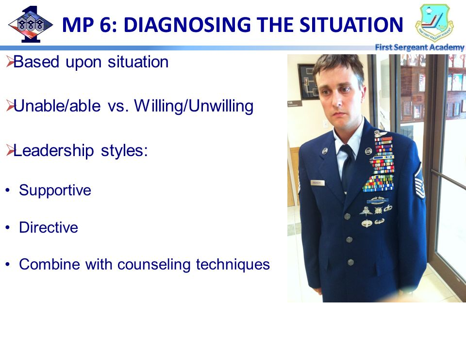 MP 6: DIAGNOSING THE SITUATION