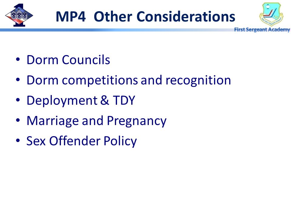 MP4 Other Considerations