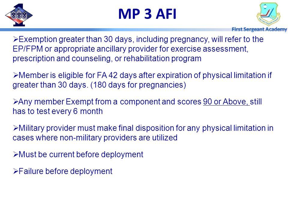 MP 3 AFI