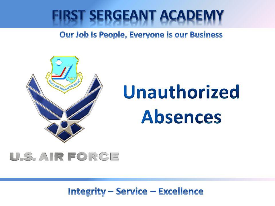 Unauthorized Absences