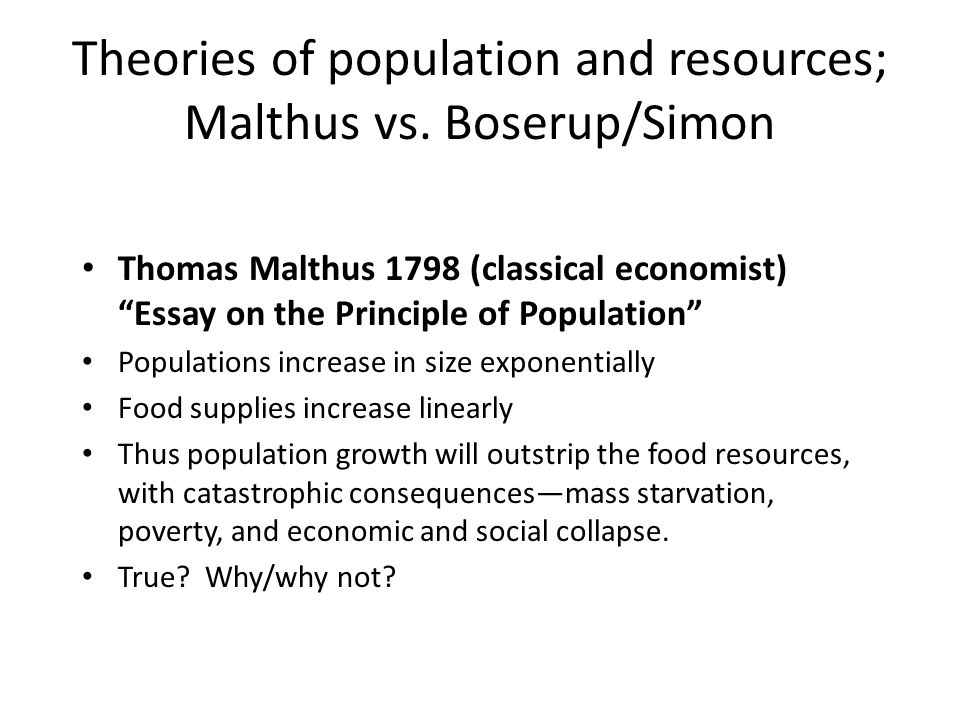 malthusian theory of population essay an essay on the principle of population by thomas robert malthus amazon co uk population malthus