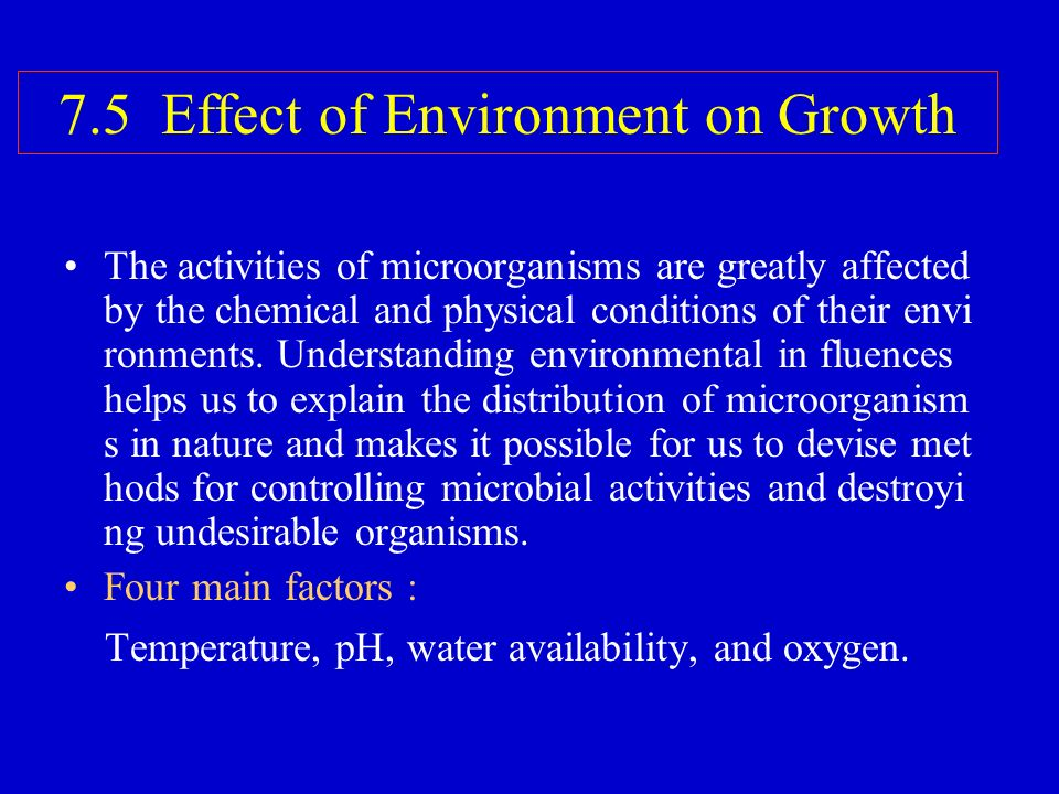 effect of temperature on microbial growth Factors affecting microbial growth 1 fattom food acid temperature time oxygen moisture factors affecting microbial growth 2 food factors affecting microbial growth.