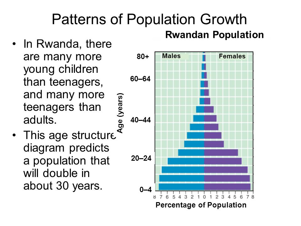 an overview of the population and growth rate of rwanda By mid-2017, rwanda had a population of 118 million with an annual growth rate of 24% from the corresponding previous year of 2016 between 1980 and 2015, there has been a remarkable decline in the total fertility rate, or the average number of children per woman over the course of her lifetime, from 84 children per woman in 1980 to 42 children per woman in 2015.