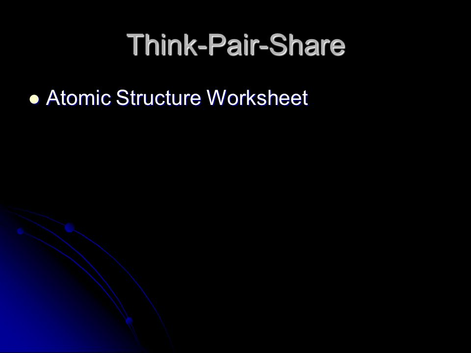 think pair share worksheet pdf