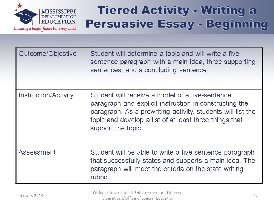 Differentiated instruction essay