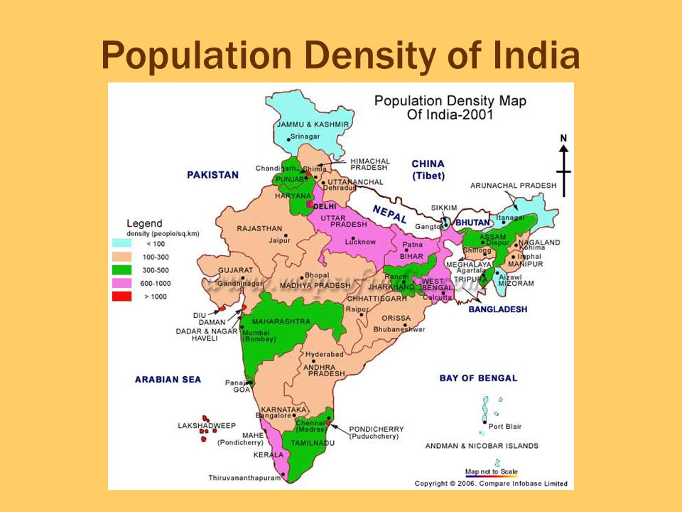 population distribution of india India is the seventh-biggest nation in terms of area, the second-most crowded  nation (with more than 12 billion individuals), and the most crowded democracy .