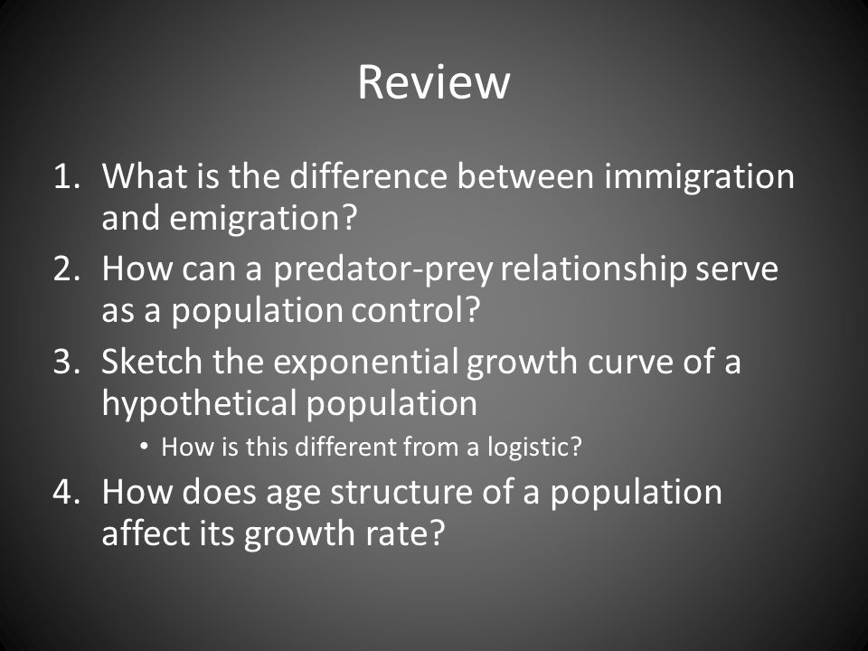 Unit 3 Populations Chapter Ppt Video Online Download