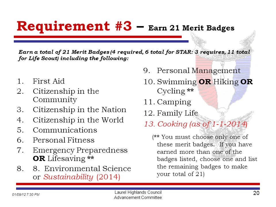 Life to Eagle Seminar Adopted by ppt download – Camping Merit Badge Worksheet Answers