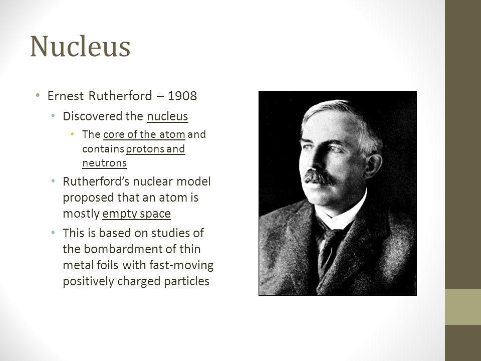 History Of The Atom Modern Atomic Theory Subatomic