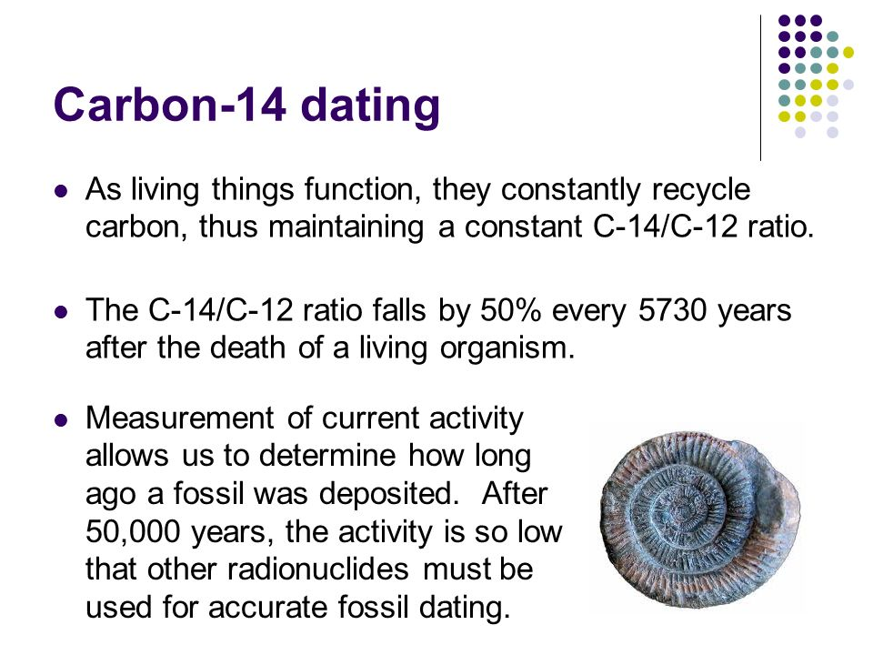 radiocarbon dating is accurate to about how many years ago