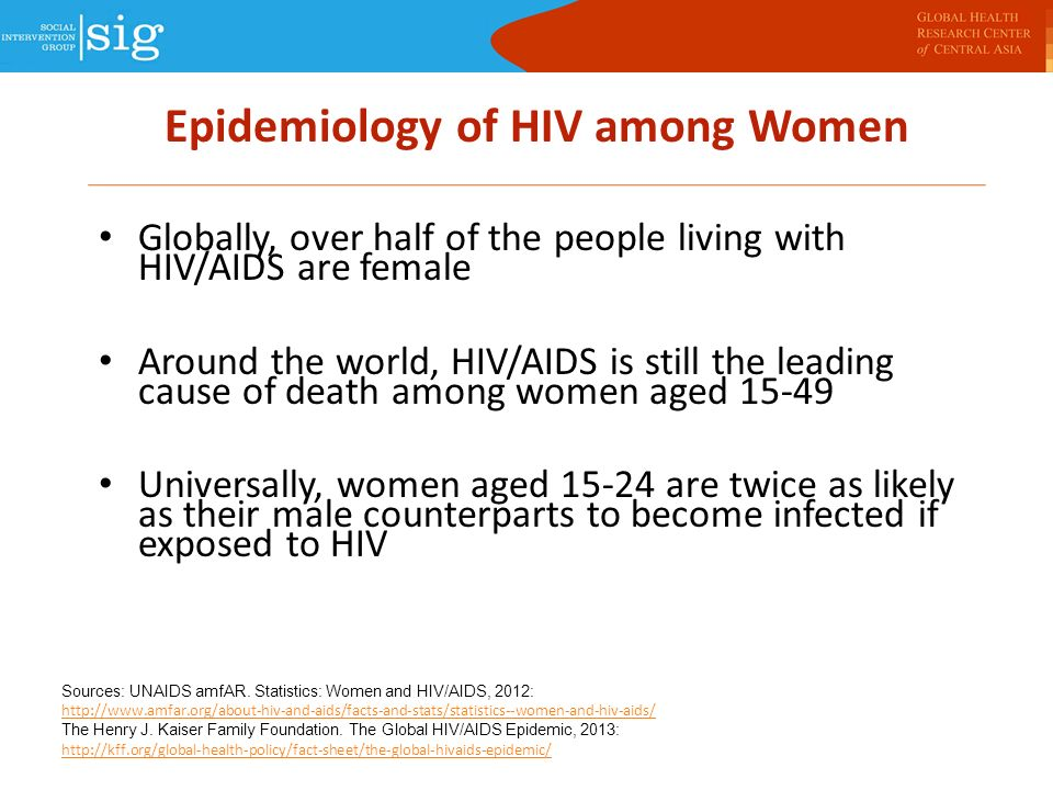 "epidemic of hiv and aids women Living with hiv⁄aids, of which more than 75 per cent are women, reflect- ing a  worldwide feminization of the epidemic"" a similar message emerg- es from  south."