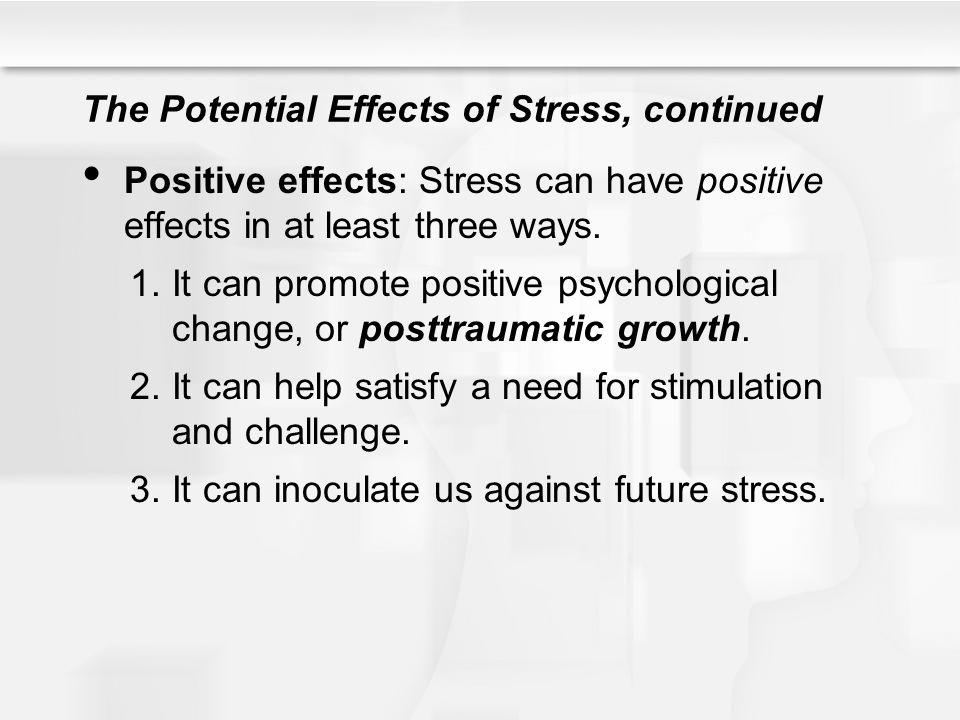 three ways that stress is conceptualised by psychologists Stress does not just affect us in a negative way stress can also be a helpful motivator when reacting to sudden danger or trying to psychologists allentown.