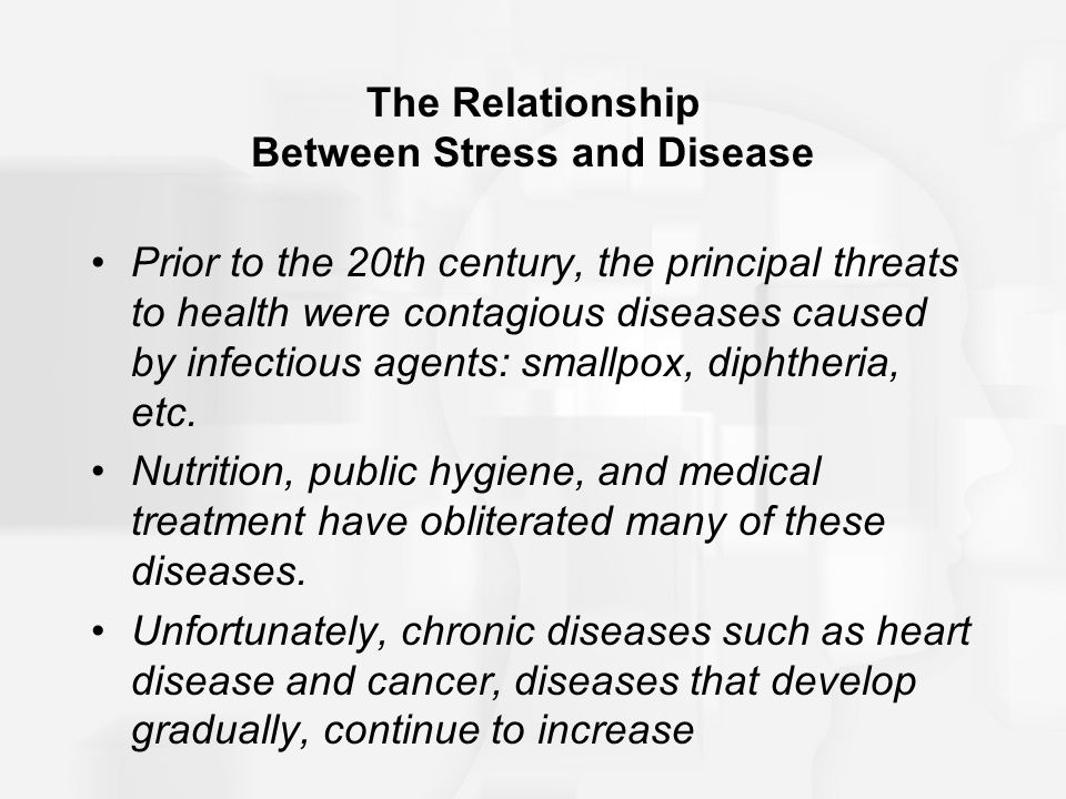 the relationship of stress and anxiety with chronic periodontitis