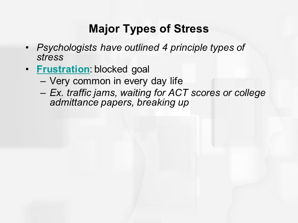 types of college stress Many students deal with stress in college this can be a significant factor in the dreaded freshman 15.