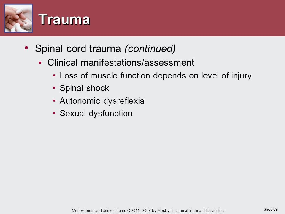 spinal cord injury sexual dysfunction